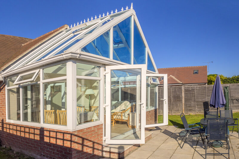 Glass Conservatory in Stockport Greater Manchester